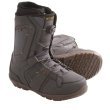 Ride Snowboards Jackson Coiler Snowboard Boots (For Men) in Charcoal - Closeouts