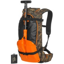 Ride Snowboards Kicker Backpack - Shovel in Camo - Closeouts