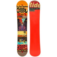 Ride Snowboards Kink Snowboard (For Men) in 152 Graphic - Closeouts