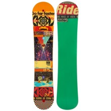 Ride Snowboards Kink Snowboard (For Men) in 153W Graphic - Closeouts