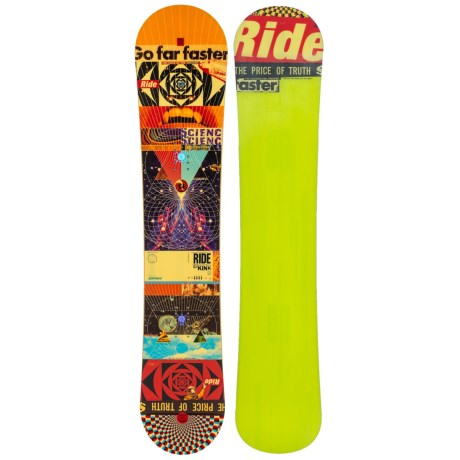 Ride Snowboards Kink Snowboard (For Men) in 155 Graphic