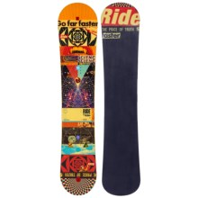 Ride Snowboards Kink Snowboard (For Men) in 156W Graphic - Closeouts