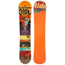 Ride Snowboards Kink Snowboard (For Men) in 159W Graphic - Closeouts