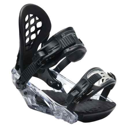 Ride Snowboards KS Snowboard Bindings (For Women) in Black - Closeouts