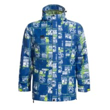 Ride Snowboards Laurelhurst Jacket - Insulated (For Men) in Pulp Comic Blue - Closeouts