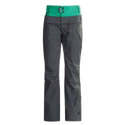 Ride Snowboards Leschi Shell Pants - Waterproof (For Women) in Charcoal Diamond Stripe