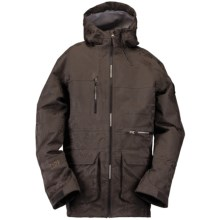 Ride Snowboards Lincoln Shell Snowboard Jacket - Waterproof (For Men) in Gunmetal Jacquard - Closeouts