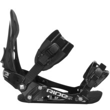 Ride Snowboards LX Snowboard Bindings in Black - Closeouts