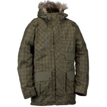 Ride Snowboards Magnificent Shell Jacket - Waterproof (For Men) in Tartan Plaid Battle Green - Closeouts