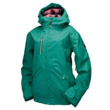 Ride Snowboards Magnolia Shell Jacket - Waterproof (For Women) in Dark Jade - Closeouts