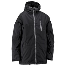 Ride Snowboards Newport Jacket - Waterproof, Insulated (For Men) in Black Twill - Closeouts