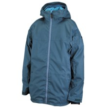 Ride Snowboards Newport Jacket - Waterproof, Insulated (For Men) in Blue Spruce - Closeouts