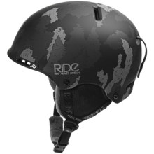 Ride Snowboards Ninja Helmet in Black - Closeouts