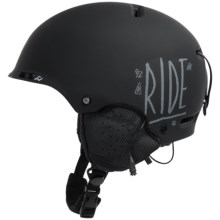 Ride Snowboards Ninja Helmet in Black - Closeouts