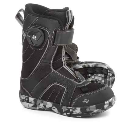 Ride Snowboards Norris Snowboard Boots (For Little and Big Kids) in Black - Closeouts