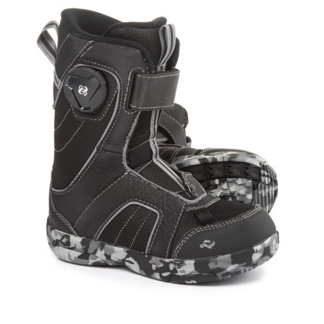 Ride Snowboards Norris Snowboard Boots (For Little and Big Kids) in Black