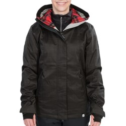 Ride Snowboards Northgate Jacket - Insulated (For Women) in Crandenim