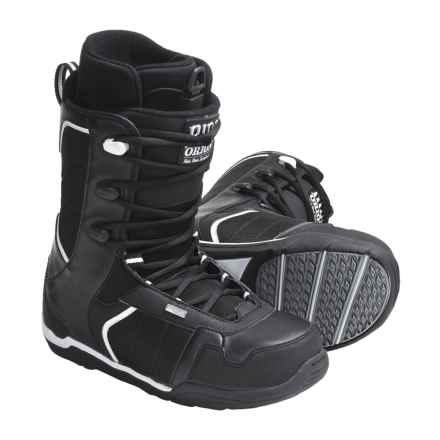 Ride Snowboards Orion Snowboard Boots (For Men) in Black - Closeouts