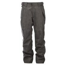 Ride Snowboards Phinney Classic Fit Snow Pants - Insulated (For Men) in Black Denim - Closeouts