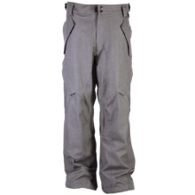 Ride Snowboards Phinney Shell Snow Pants - Classic Fit (For Men) in Light Grey Denim - Closeouts