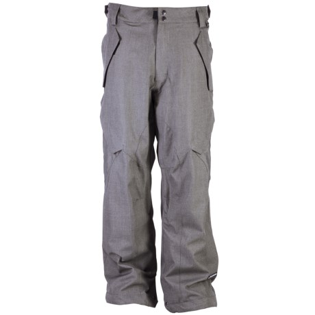 Ride Snowboards Phinney Shell Snow Pants - Classic Fit (For Men) in Light Grey Denim