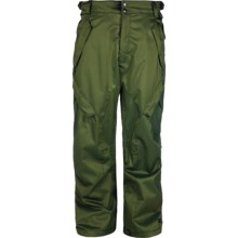 Ride Snowboards Phinney Snow Pants - Insulated (For Men) in Green Denim - Closeouts