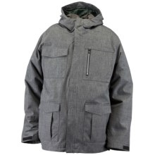 Ride Snowboards Pioneer 3-in-1 Jacket - Insulated, Flannel Lined (For Men) in Black Denim - Closeouts