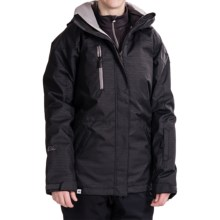 Ride Snowboards Queen Jacket - Snap-In Vest (For Women) in Black Lurex - Closeouts