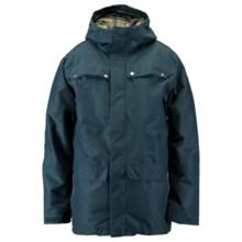 Ride Snowboards Rainier Flannel-Lined Shell Jacket - Waterproof (For Men) in Blue Marine Slub - Closeouts