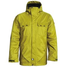Ride Snowboards Rainier Shell Jacket - Waterproof (For Men) in Golden Olive - Closeouts