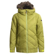 Ride Snowboards Ravenna Down Jacket (For Women) in Limeade Melange - Closeouts