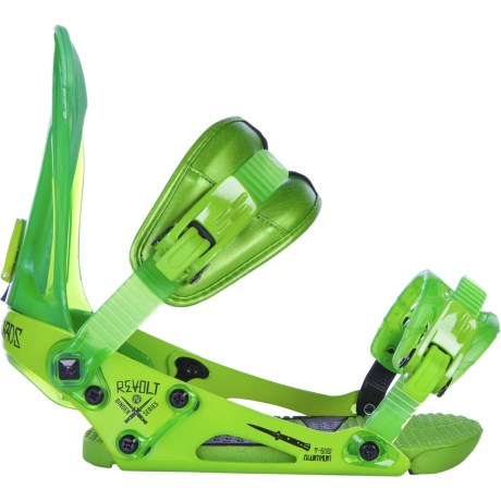 Ride Snowboards Revolt Snowboard Bindings in Lime
