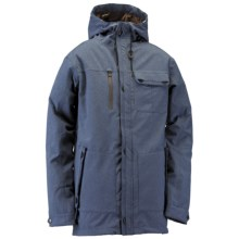 Ride Snowboards Riot Shell Jacket (For Men) in Shipyard Navy Stretch Tweed - Closeouts