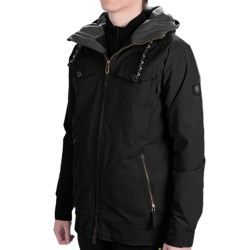 Ride Snowboards Riot Ski Jacket - Insulated (For Men) in Black Tweed