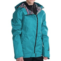 Ride Snowboards Seward Jacket - Waterproof (For Women) in Raspberry Sherbet Jersey Melange