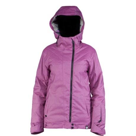 Ride Snowboards Seward Jacket - Waterproof (For Women) in Raspberry Sherbet Jersey Melange