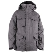 Ride Snowboards Sodo Jacket - Waterproof, Insulated (For Men) in Black Concrete Melange - Closeouts