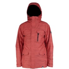 Ride Snowboards Sodo Jacket - Waterproof, Insulated (For Men) in Red Orange Slub - Closeouts
