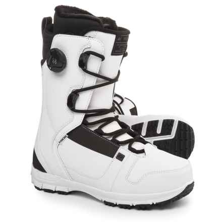 Ride Snowboards Triad Snowboard Boots (For Men and Women) in White - Closeouts