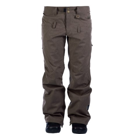 Ride Snowboards Wasted Snowboard Pants (For Women) in Putty Melange