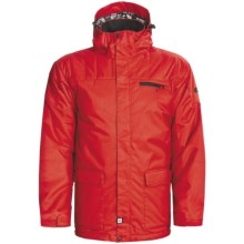 Ride Snowboards Wedgewood Jacket - Insulated (For Men) in Red - Closeouts