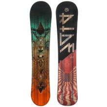 Ride Snowboards Wild Life Snowboard (For Men) in 159W Black/Red - Closeouts