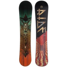 Ride Snowboards Wild Life Snowboard (For Men) in 159W Tan/Red - Closeouts