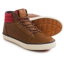 Ridgemont Outfitters Waxed Shoes - Leather (For Men) in Auburn/Red - Closeouts