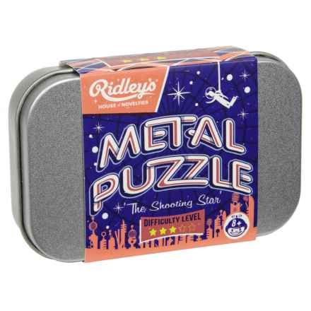 Ridley's House of Novelties Shooting Star Metal Puzzle in Multi - Closeouts
