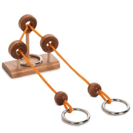 Ridley's Rope Puzzle in See Photo - Closeouts