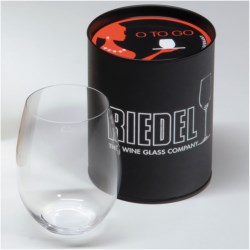 Riedel Cabernet / Merlot to Go Stemless Wine Glass in See Photo