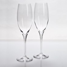 Riedel Heart to Heart Champagne Glasses - Set of 2 in See Photo - Overstock