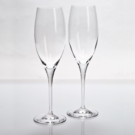 Riedel Heart to Heart Champagne Glasses - Set of 2 in See Photo