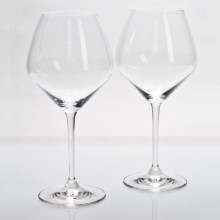 Riedel Heart to Heart Pinot Noir Wine Glasses - Set of 2 in See Photo - Overstock